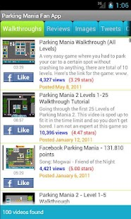 Parking Mania Fan App - screenshot thumbnail