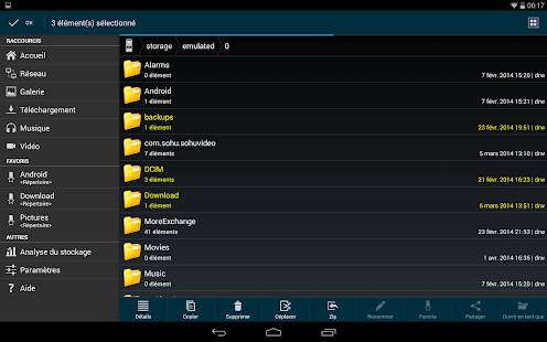File Manager HD (Explorer) Capture d'écran