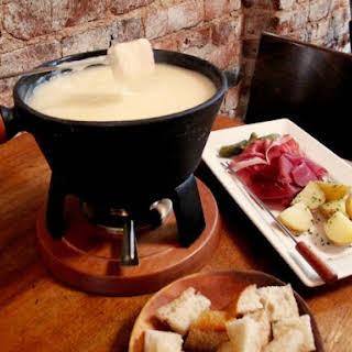 Swiss Cheese Fondue.