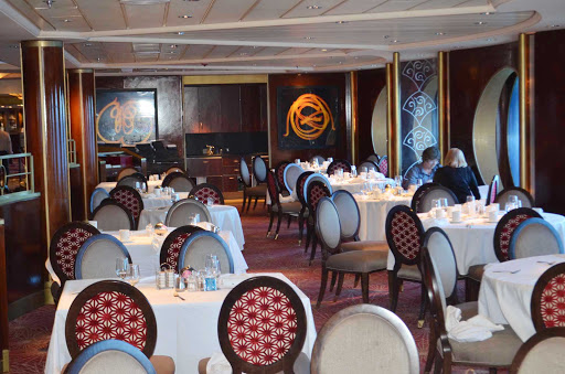 Celebrity-Infinity-restaurant - Restaurant on Celebrity Infinity.