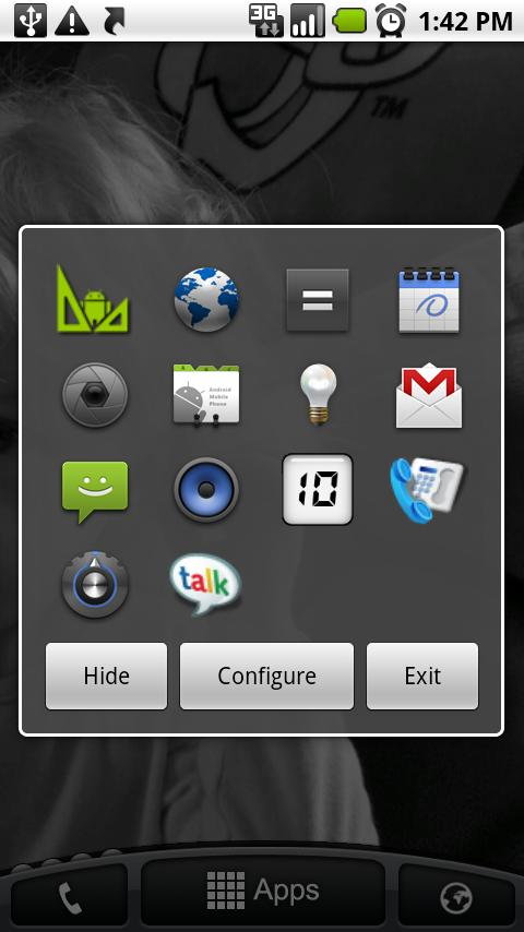 App Launcher- screenshot