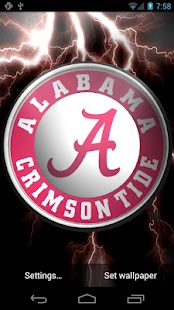 Alabama Crimson Tide Pix &Tone - screenshot thumbnail