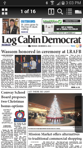 Log Cabin Democrat Replica