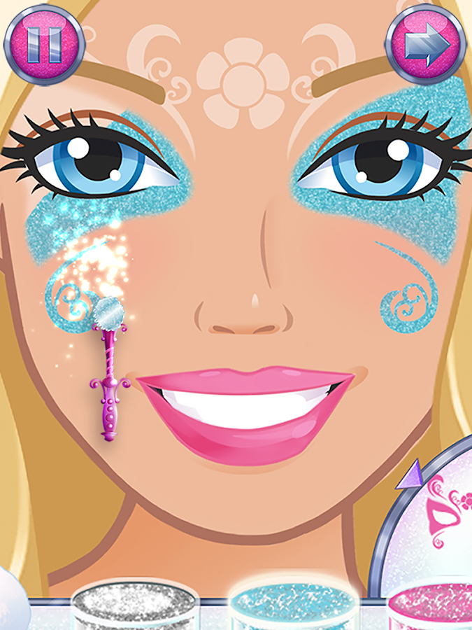 Screenshots of Barbie Magical Fashion for iPhone