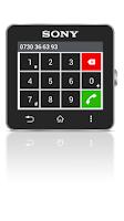 Screenshot of Call handling smart extension