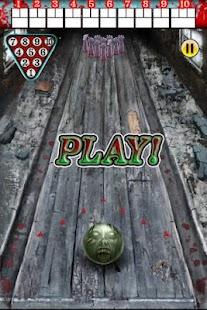 Zombie Bowling- screenshot thumbnail