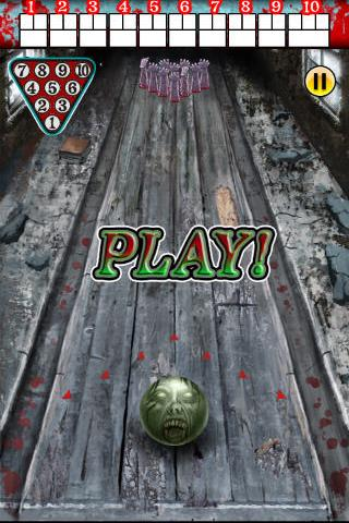 Zombie Bowling- screenshot