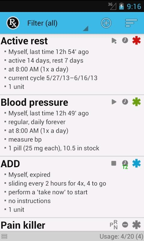 Your Medicine 1-2-3 free - screenshot
