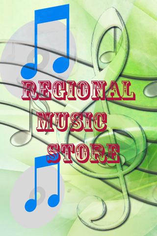 Regional Music Store
