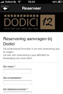 Dodici - screenshot thumbnail