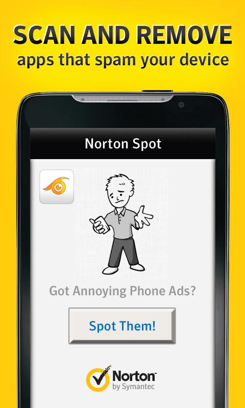 Norton Spot ad detector - screenshot