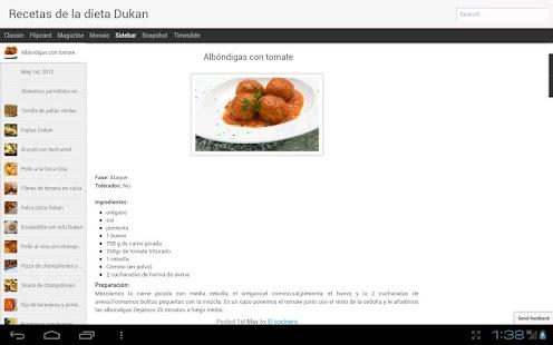 Recetas Dukan- screenshot thumbnail
