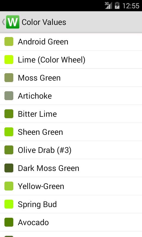 Lists for Writers screenshot #4