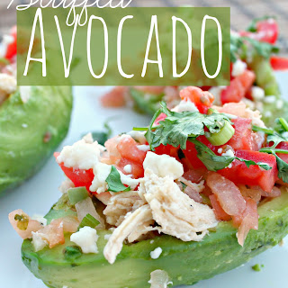 Healthy Stuffed Avocados.