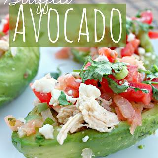 Healthy Stuffed Avocados.