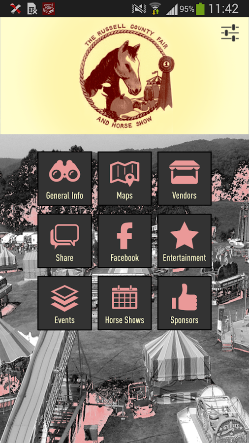 Russell Co Fair & Horse Show - screenshot