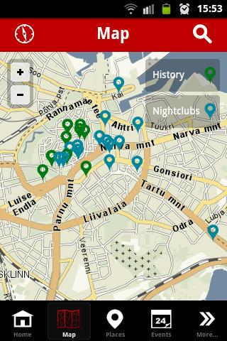 Tallinn Official City Guide - screenshot