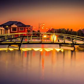Mawson Lakes by Zdenka Rosecka - City,  Street & Park  Neighborhoods (  )