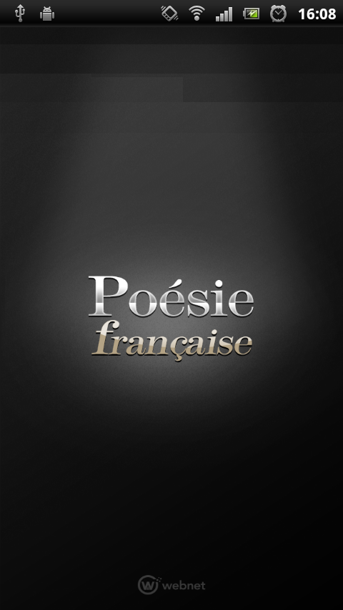 Poésie Fr- screenshot