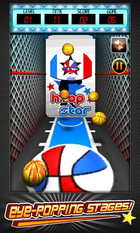 Basketball Shootout (3D) - screenshot