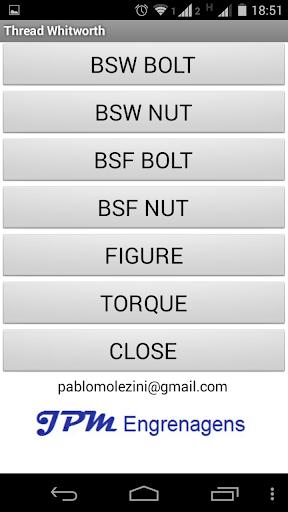 【免費生產應用App】Threads M BSW BSF UNC UNF TR-APP點子