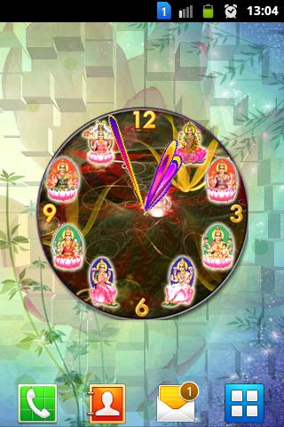 Ashta Lakshmi Diwali Clock