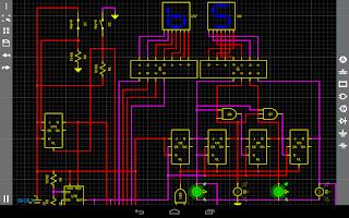 Screenshot of Droid Tesla