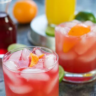Skinny Hurricane Cocktail.