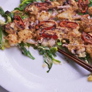Seafood Pancakes (Haemul Pajeon) Recipe