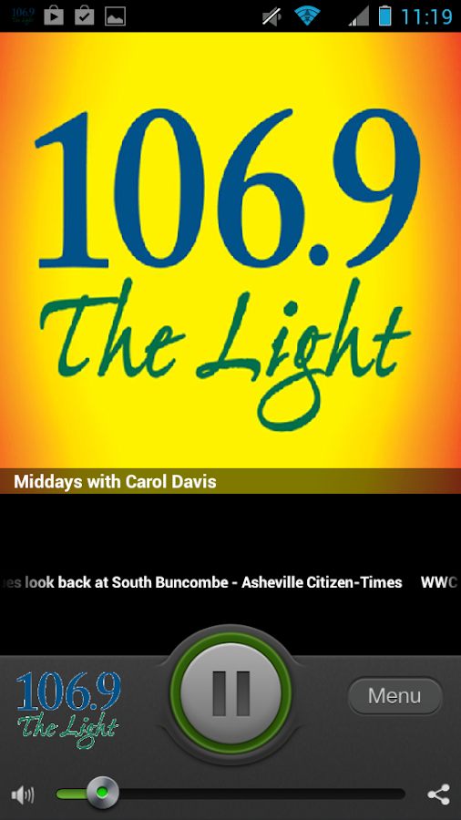106.9 The Light- screenshot