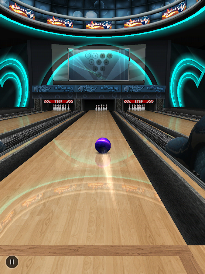 Bowling Game 3D - screenshot