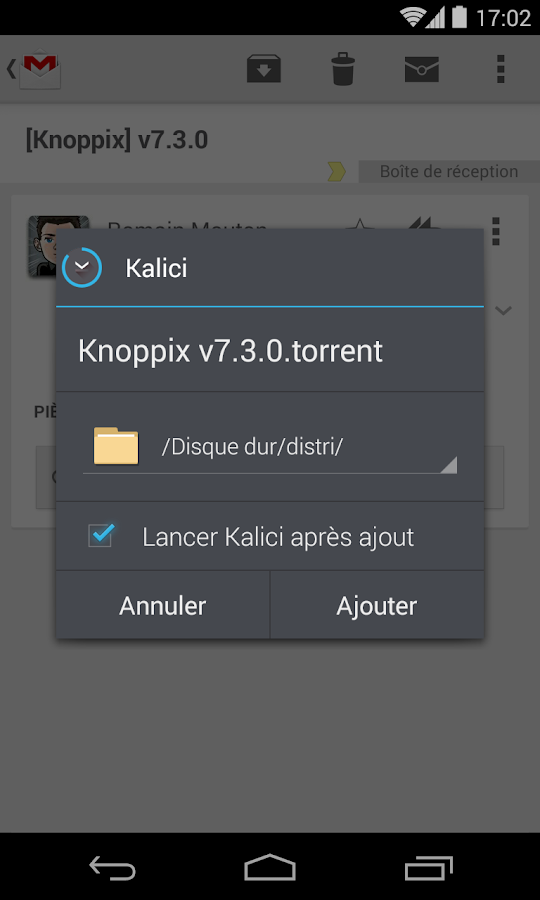 Kalici : Le compagnon Freebox - screenshot