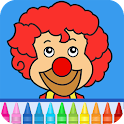 Circus Game:  Color and Draw icon