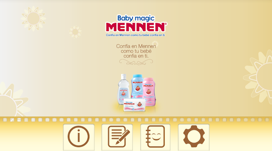 Baby Magic Mennen ® y Curity ® screenshot
