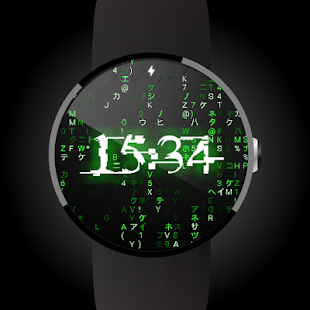 Matrix face for Android Wear- screenshot thumbnail