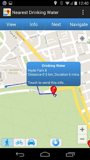 Nearest Water Fountains
