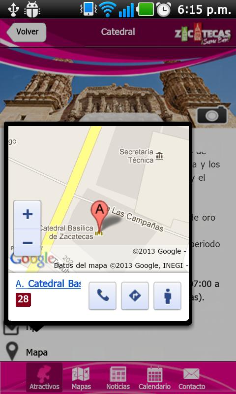 ZacatecasTravel - screenshot