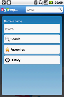 123-reg Domains App - screenshot thumbnail