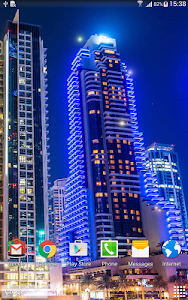 Dubai Night Live Wallpaper screenshot 8