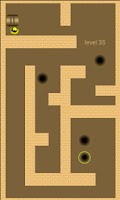 Screenshot of Gold Ball. Labyrinth