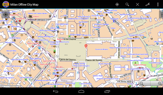 Milan Offline City Map Apps on Google Play