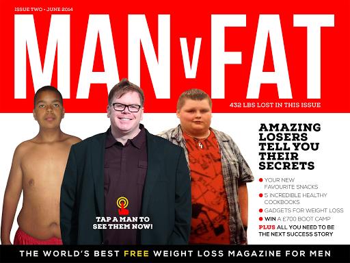 MAN v FAT Magazine App
