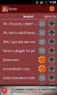 TF2 Soundboard - Scout- screenshot thumbnail