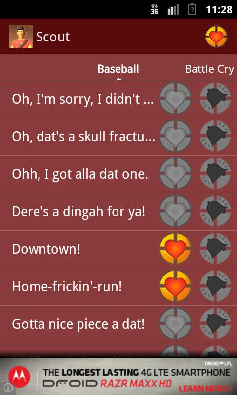 TF2 Soundboard - Scout - screenshot