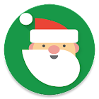 Siga o Papai Noel no Google icon