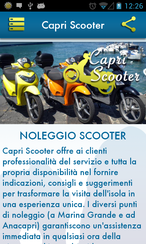 Capri Scooter e Aurora Time- screenshot