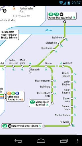 法蘭克福交通地圖 旅遊 App-愛順發玩APP
