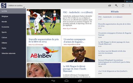 免費下載新聞APP|Le Soir Tablette app開箱文|APP開箱王