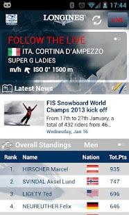 Live Alpine Skiing by Longines - screenshot thumbnail