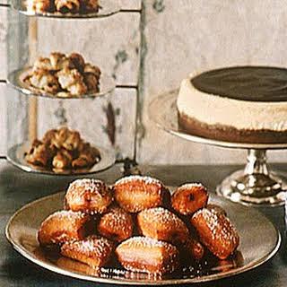 Cinnamon Honey Doughnuts with Raspberry Jam.